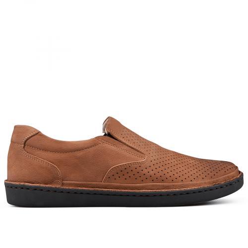 мъжки ежедневни обувки кафяви 0131008