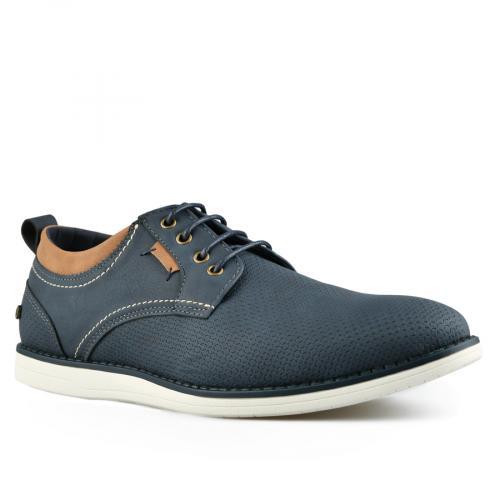мъжки ежедневни обувки сини 0143794