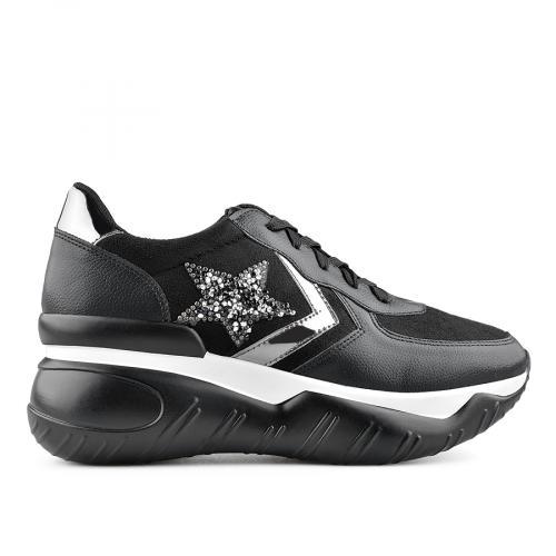 дамски ежедневни обувки черни 0139395