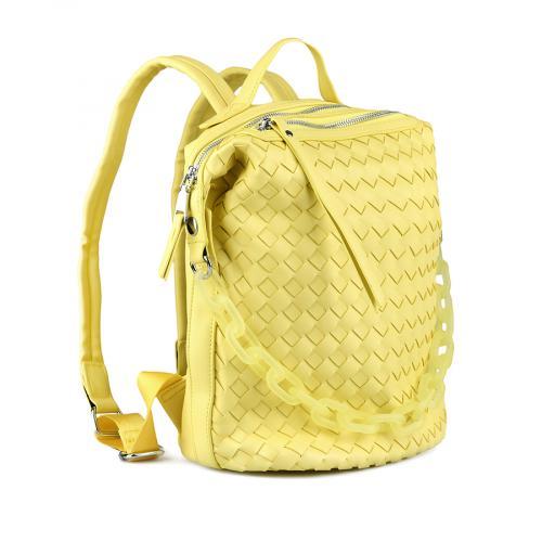 дамска раница жълта 0143627