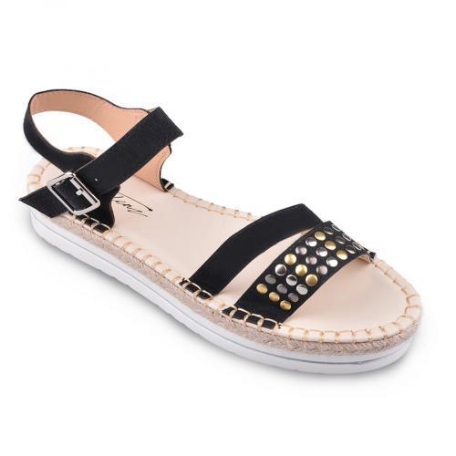 дамски ежедневни сандали черни 0134564