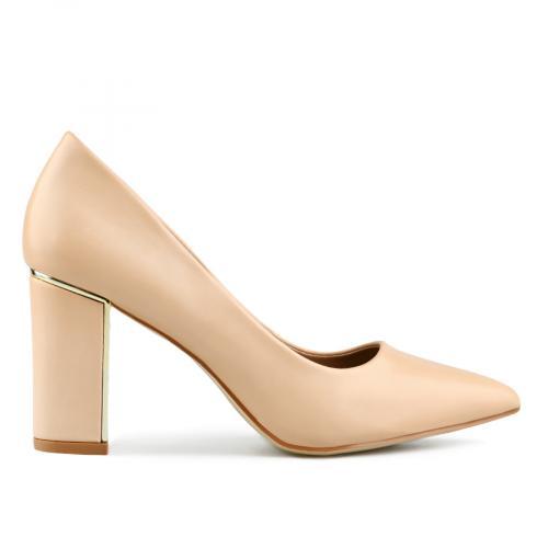 дамски елегантни обувки бежови 0143211