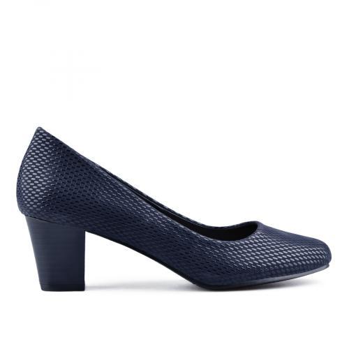 дамски елегантни обувки сини 0141647