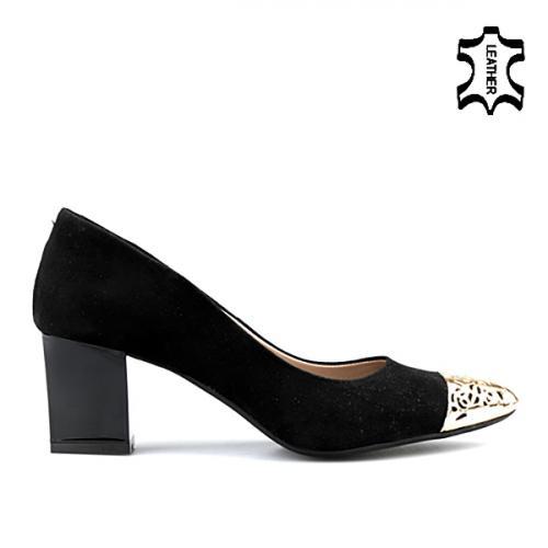 дамски елегантни обувки черни 0122211