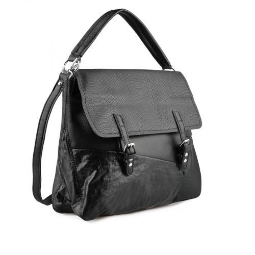 дамска ежедневна чанта черна 0137962