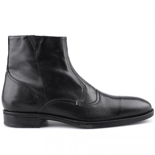 мъжки елегантни боти черни 0121423