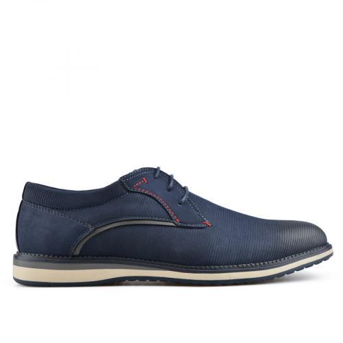 мъжки ежедневни обувки сини 0136599