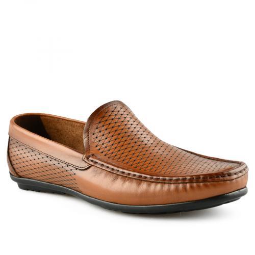 мъжки ежедневни обувки кафяви 0141244