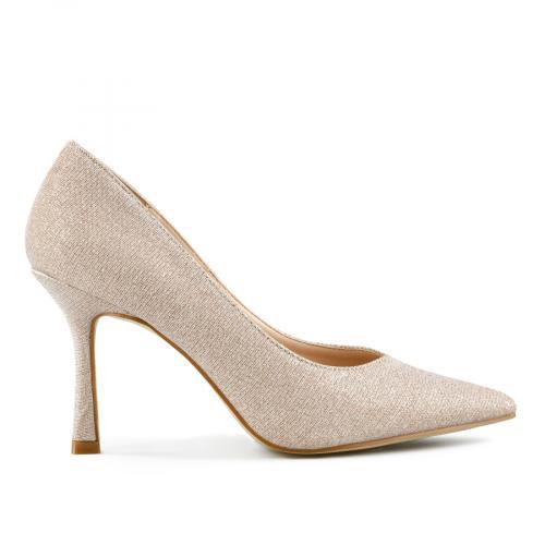 дамски елегантни обувки златисти 0143240