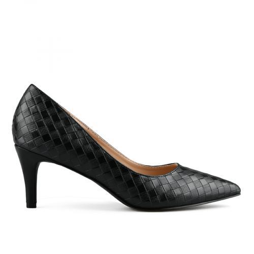 дамски елегантни обувки черни 0142886