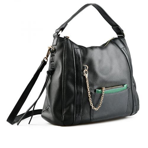 дамска ежедневна чанта черна 0141744