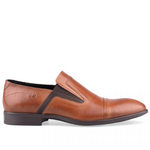 мъжки елегантни обувки кафяви 0125880
