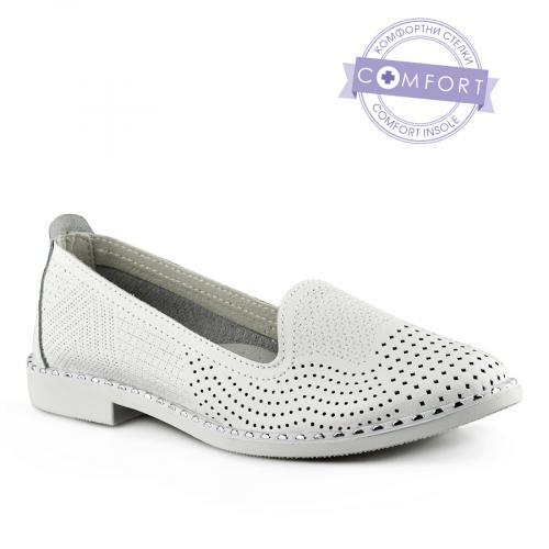 дамски ежедневни обувки бели 0139737