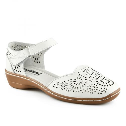 дамски ежедневни сандали бели 0139744