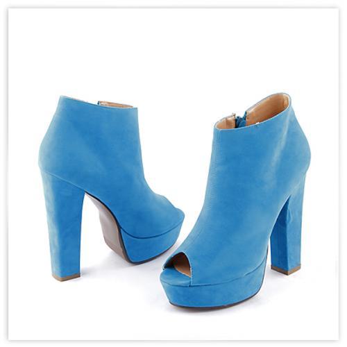 дамски летни боти сини 0112569