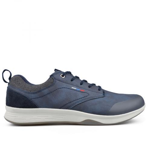 мъжки ежедневни обувки сини 0135602