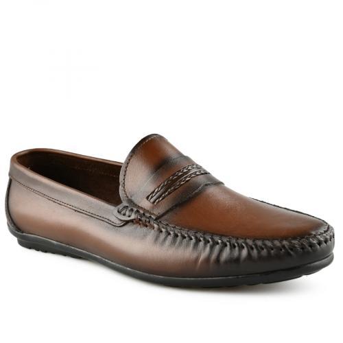 мъжки ежедневни обувки кафяви 0141242