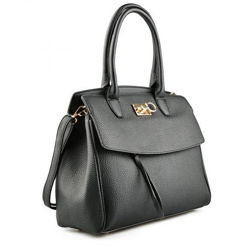 дамска ежедневна чанта черна 0142075