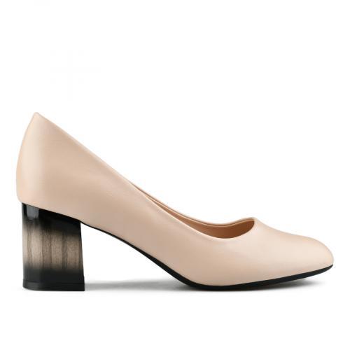 дамски елегантни обувки бежови 0142420