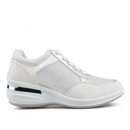 дамски ежедневни обувки бели 0136637