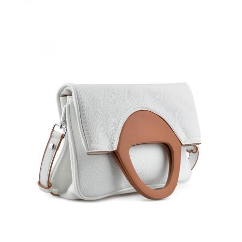дамска ежедневна чанта бяла 0137161