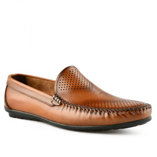 мъжки ежедневни обувки кафяви 0141234