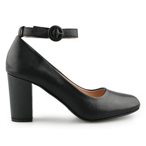 дамски елегантни обувки черни 0140886