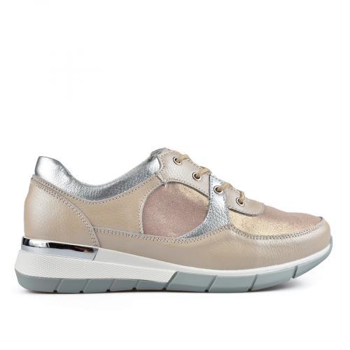 дамски ежедневни обувки бежови 0137209
