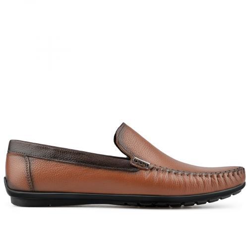 мъжки ежедневни обувки кафяви 0138258