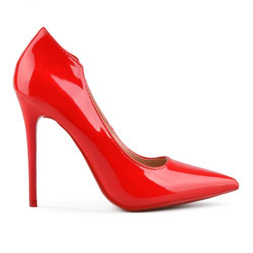 дамски елегантни обувки червени 0143219