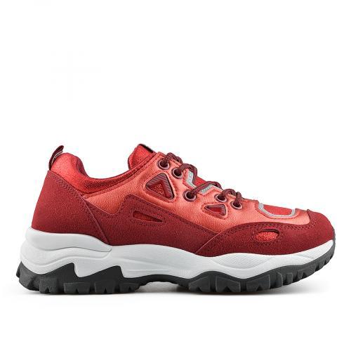 дамски ежедневни обувки бордо 0138921