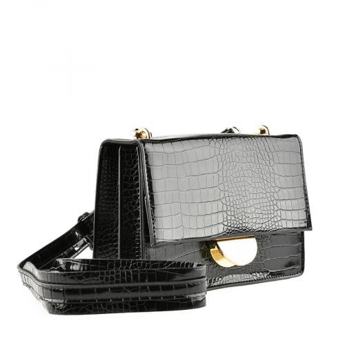 дамска ежедневна чанта черна  0139910
