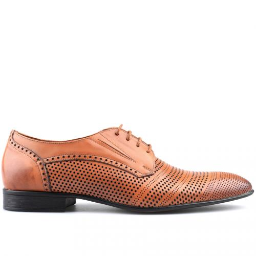 мъжки елегантни обувки кафяви 0124833