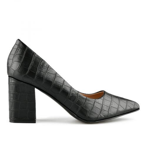 дамски елегантни обувки черни 0141054