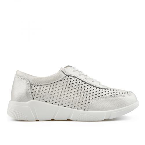 дамски ежедневни обувки бели 0137222