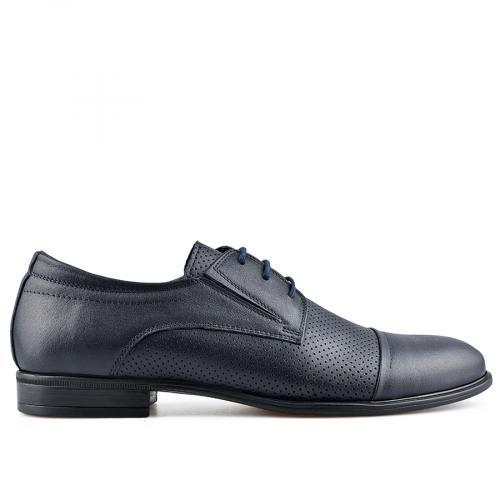 мъжки елегантни обувки тъмно сини 0138490