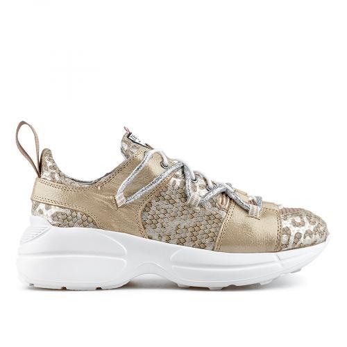 дамски ежедневни обувки златисти 0138444