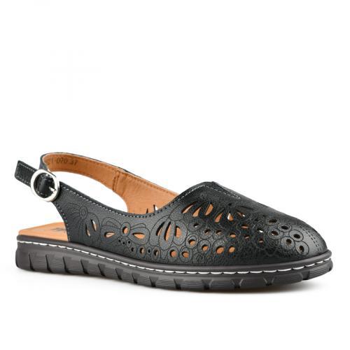 дамски ежедневни сандали черни 0142502