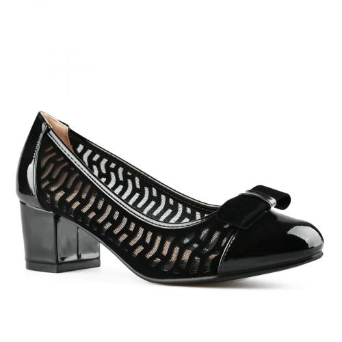 дамски елегантни обувки черни 0143301
