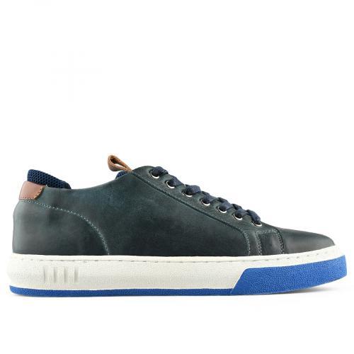 мъжки ежедневни обувки сини 0140756