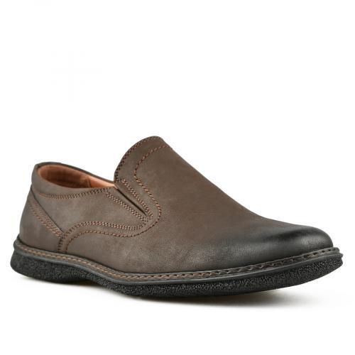 мъжки ежедневни обувки кафяви 0144804