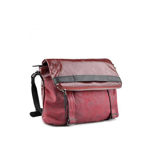 дамска ежедневна чанта червена 0139197