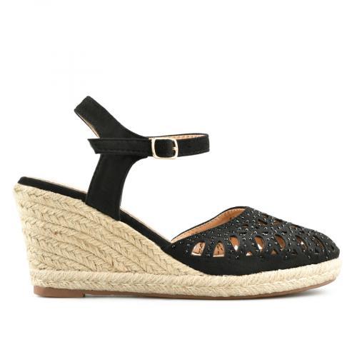 дамски ежедневни сандали черни 0140692