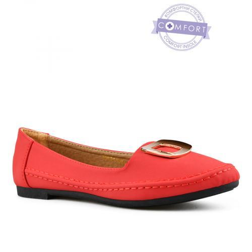 дамски ежедневни обувки червени 0143076