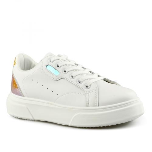 дамски ежедневни обувки бели 0141500