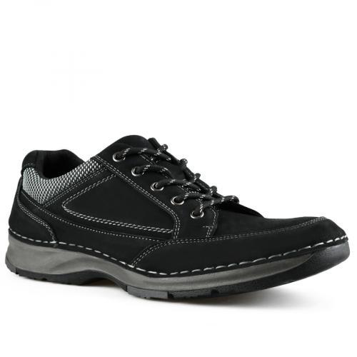 мъжки ежедневни обувки черни 0142117