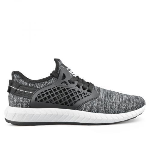 мъжки ежедневни обувки черни 0136914