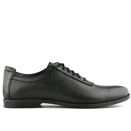 мъжки ежедневни обувки черни 0141143