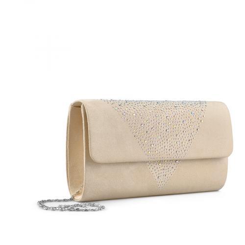дамска  елегантна чанта бежова 0136719