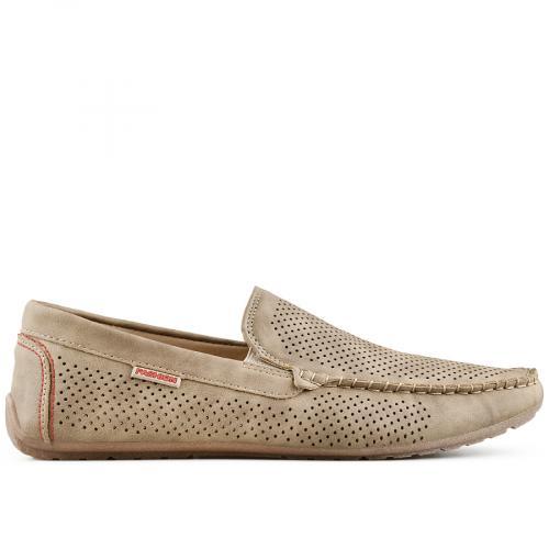 мъжки ежедневни обувки бежов 0140271
